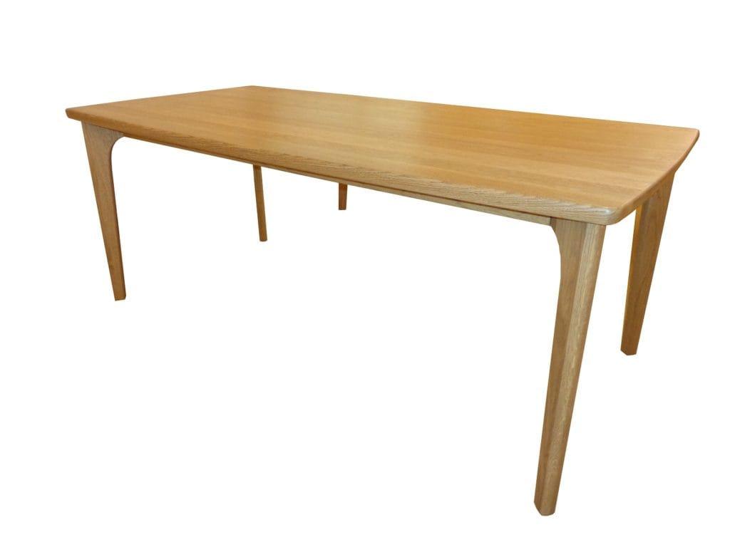 150cmタモ材テーブル