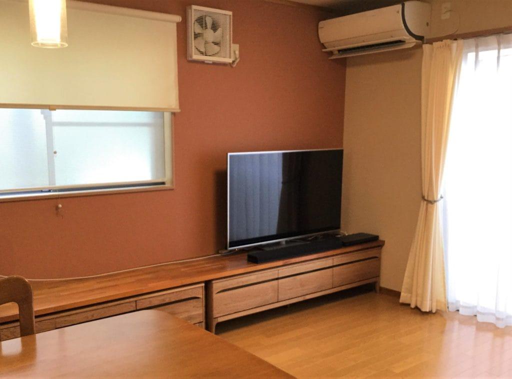 テレビボード2台