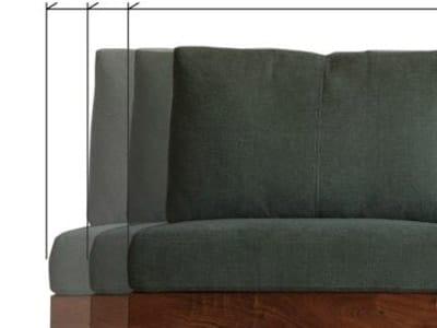 ソファのサイズが選べる