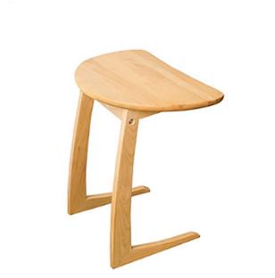 アルダー材サイドテーブル