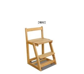 国産楠材学習椅子